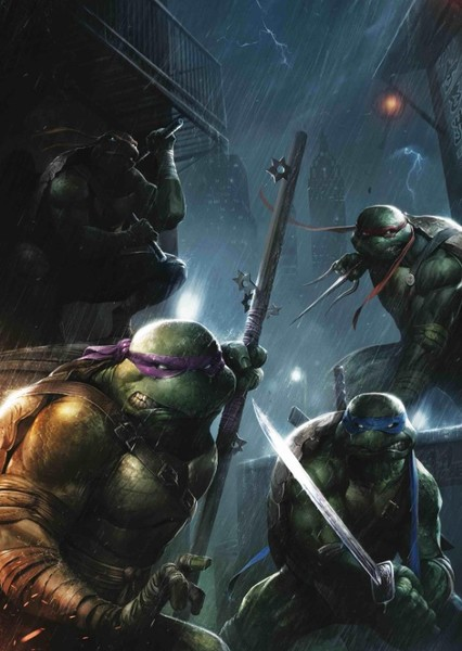 Ruben Fleischer's Teenage Mutant Ninja Turtles Fan Casting Poster