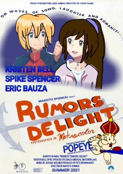 Rumor's Delight Fan Casting Poster