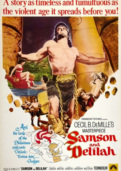 Samson and Delilah Fan Casting Poster