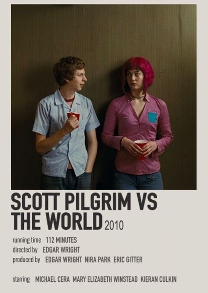 Scott Pilgrim vs. the World Fan Casting Poster
