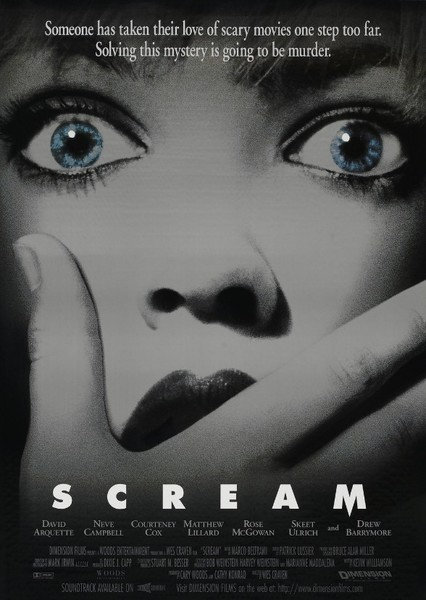 Scream Fan Casting Poster