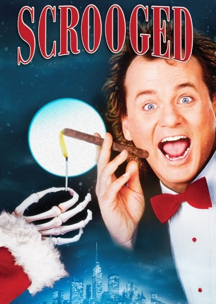 Scrooged  Fan Casting Poster