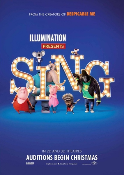 Sing! Fan Casting Poster