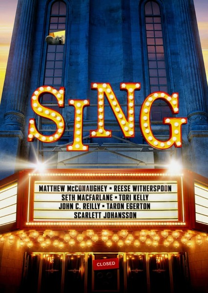 Sing: the Series  Fan Casting Poster
