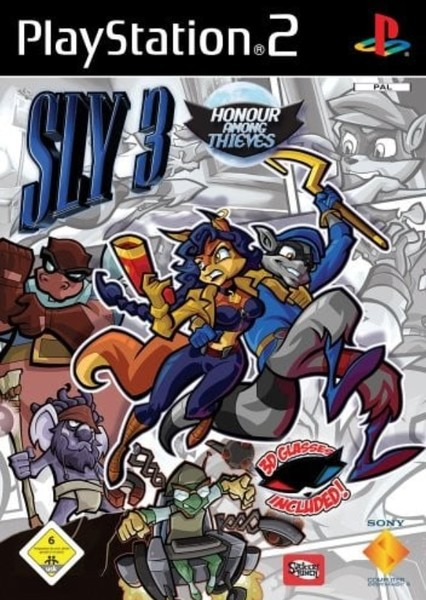 Sly 3 Honor Among Thieves  Fan Casting Poster