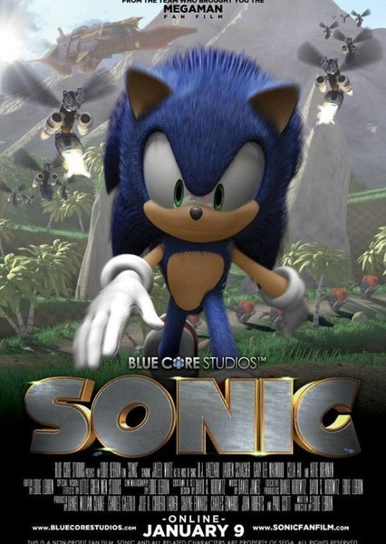 Sonic The Hedgehog(NCU) Fan Casting Poster