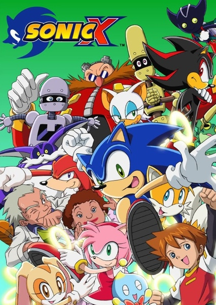 Sonic X (Live Action) Fan Casting Poster