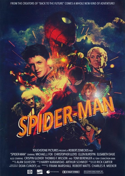 Spider-Man (1986) Fan Casting Poster