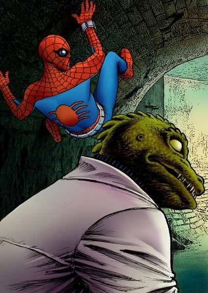 Spider-Man '77: Night of the Lizard Fan Casting Poster