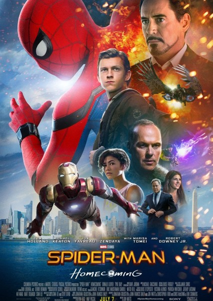 Spider-Man Homecoming (Genderswap) Fan Casting Poster