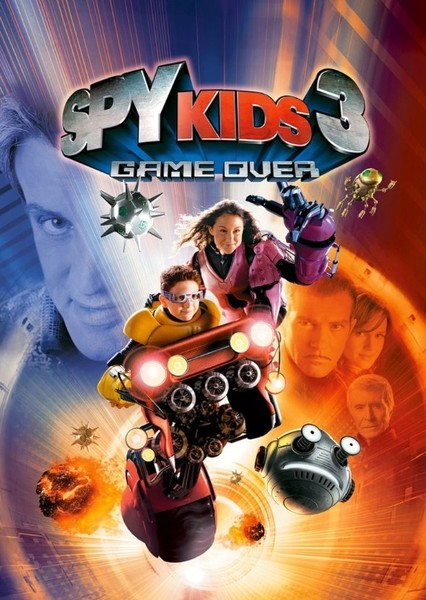 Spy Kids 3-D: Game Over (2023) Fan Casting Poster