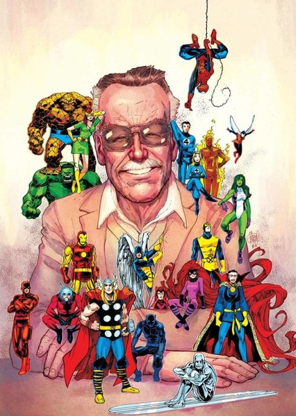 Stan Lee biopic Fan Casting Poster