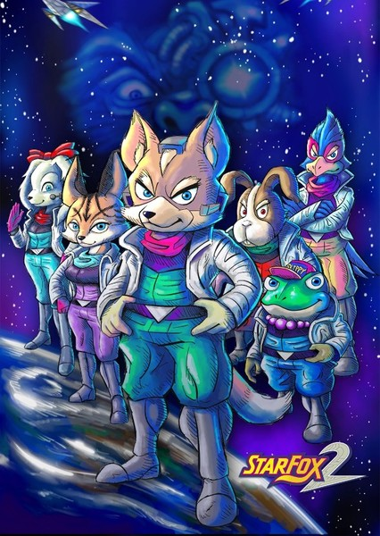 Star Fox 2: Rise of Star Wolf (ANIMATED SSBCU) Fan Casting Poster