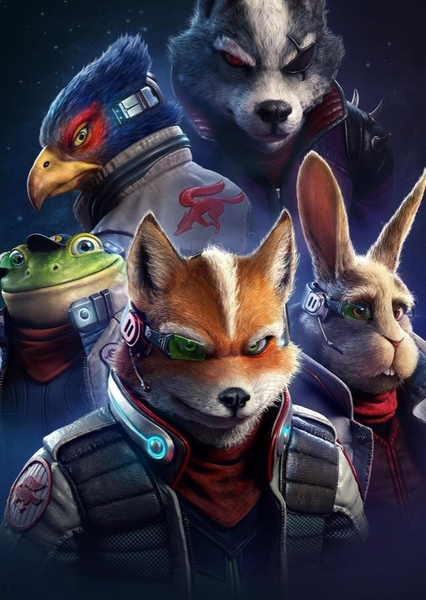 Star Fox Fan Casting Poster