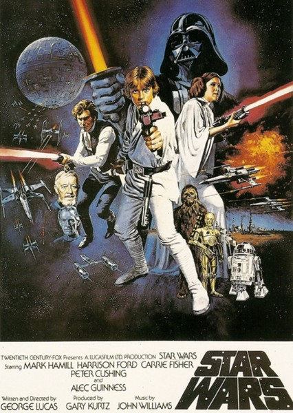 Star Wars: A New Hope Fan Casting Poster