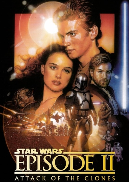 Star Wars: Attack of the Clones (Episode II) (1992) Fan Casting Poster