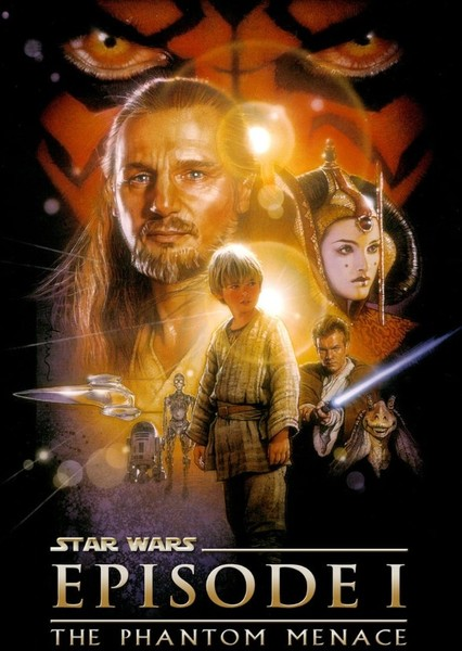 Star Wars Episode I: The Phantom Menace (1985) Fan Casting Poster
