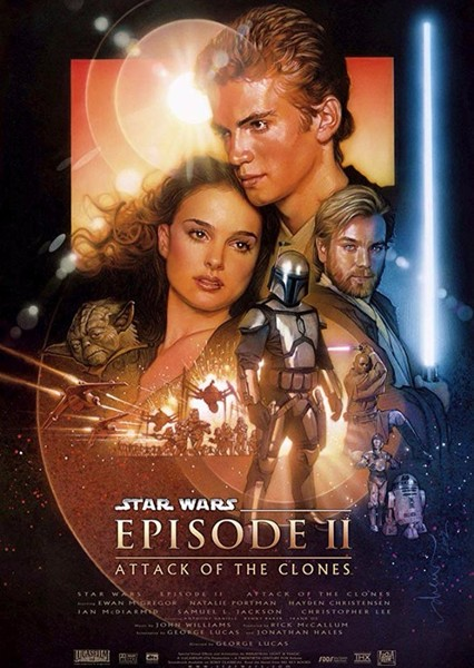 Star Wars Episode II: Attack of the Clones Fan Casting Poster