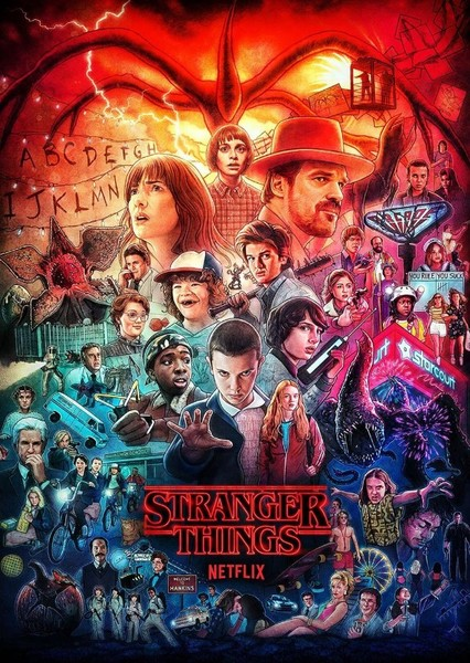 Strangers Things Fan Casting Poster