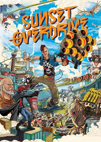 Sunset Overdrive: The Movie Fan Casting Poster