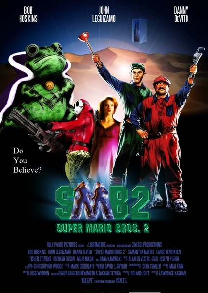 super mario bros movie cast