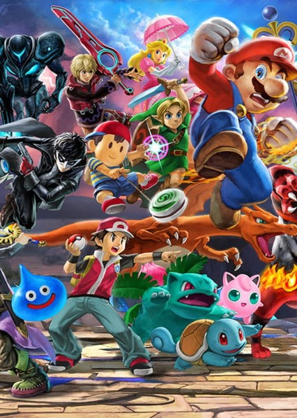 Super Smash Bros: Supreme Fan Casting Poster
