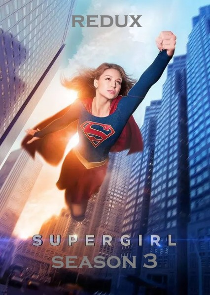 Supergirl (Season 3) Fan Casting Poster