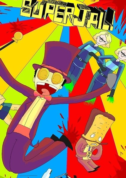 Superjail! ('90s live action movie) Fan Casting Poster