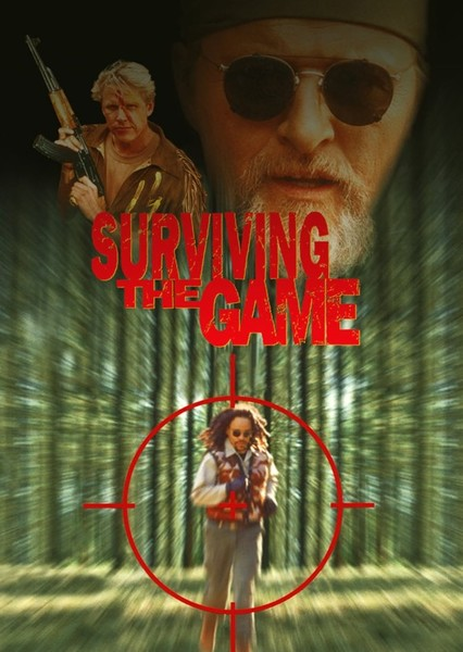 Surviving the Game Fan Casting Poster