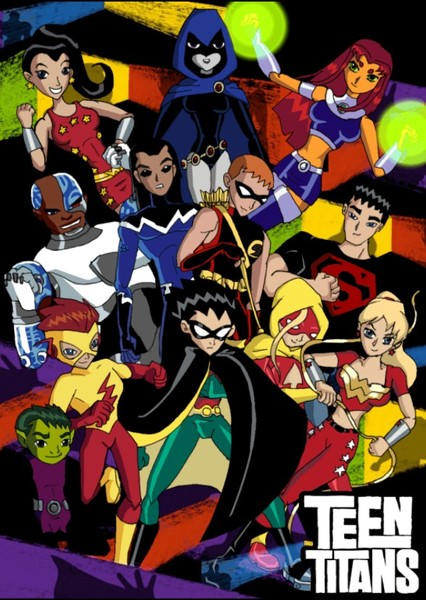 Teen Titans and Young Justice Fan Casting Poster
