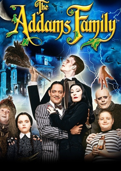 The Addams Family (Genderbent/Genderswap) Fan Casting Poster
