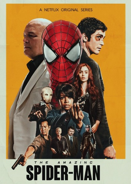 The Amazing Spider-Man (Season I)  Fan Casting Poster