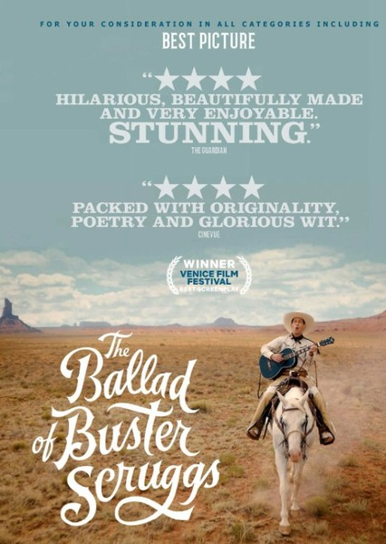 The Ballad of Buster Scruggs: 1960s Edition Fan Casting Poster
