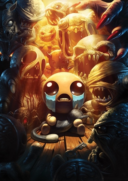 The Binding of Isaac Fan Casting Poster