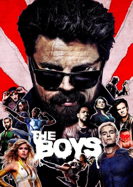 THE BOYS  [Movie - No Actors from the Show Original Actors] Fan Casting Poster