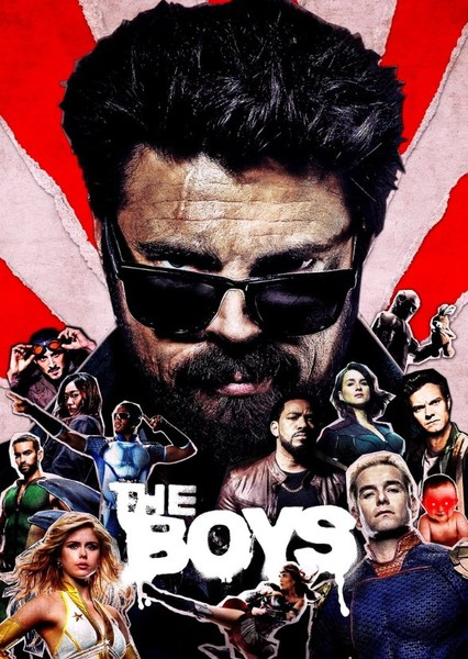 The Boys (Recasted) Fan Casting Poster