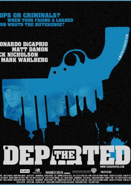 The Departed Fan Casting Poster