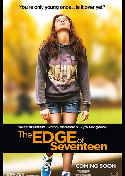 The Edge of Seventeen (1980s) Fan Casting Poster
