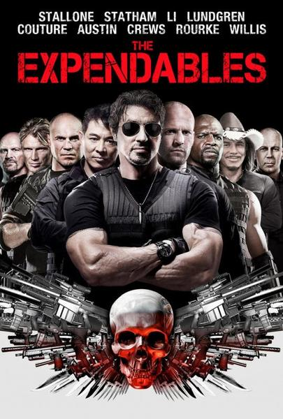 The Expendables 4 Fan Casting Poster