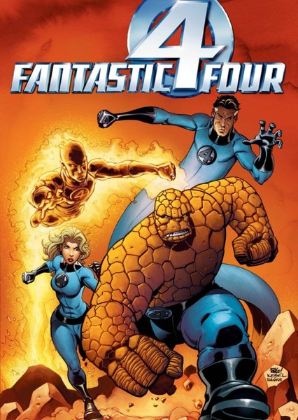 The Fantastic Four Fan Casting Poster