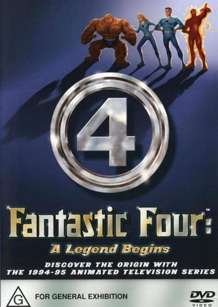 The fantastic four MCU Fan Casting Poster