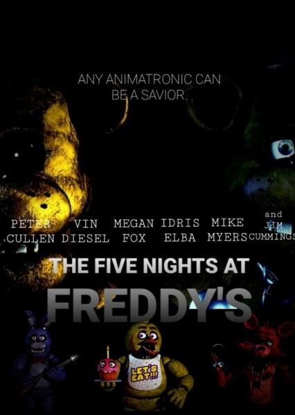 The Five Nights at Freddy's Fan Casting Poster
