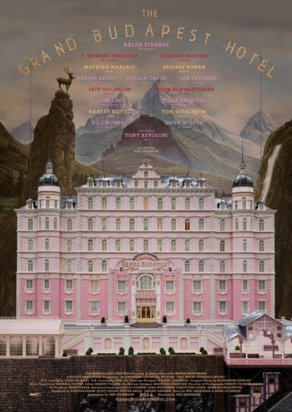 The Grand Budapest Hotel (1994) Fan Casting Poster