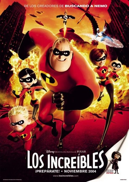 The Incredibles Fan Casting Poster