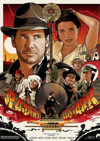 The Indiana Jones Trilogy (2011-2019) Fan Casting Poster