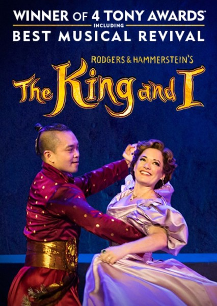 The King and I Fan Casting Poster