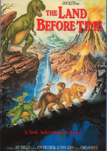 The Land Before Time  Fan Casting Poster
