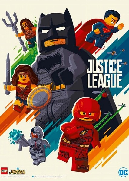 The LEGO Justice League Movie Fan Casting Poster