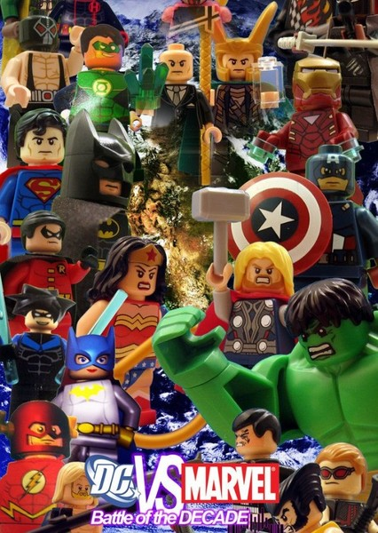 The LEGO Marvel vs DC Movie