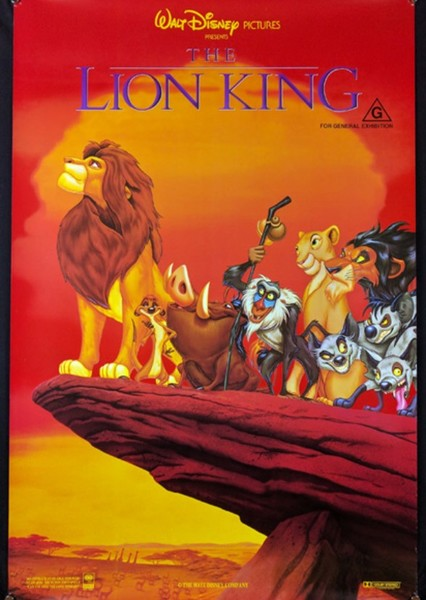 The Lion King (1944) Fan Casting Poster